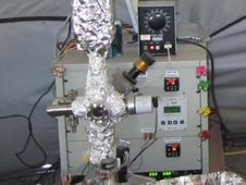 Image of the Volatile Analysis by Pyrolysis of Regolith (VAPoR) hardware system. Credit: Danny Glavin