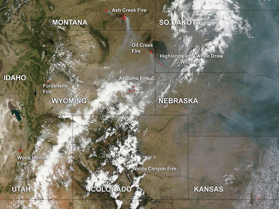 nasa fire map - photo #39