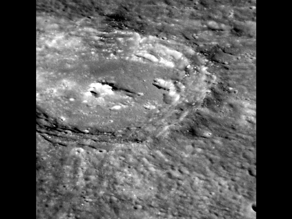 Image from Orbit of Mercury: A Crater's World