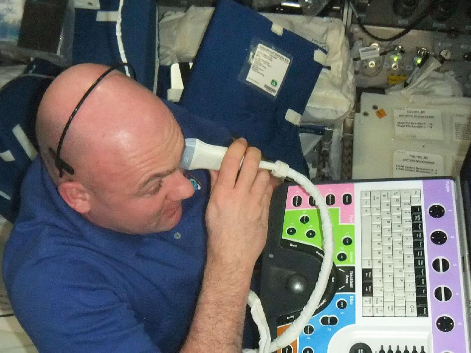 European Space Agency astronaut Andre Kuipers