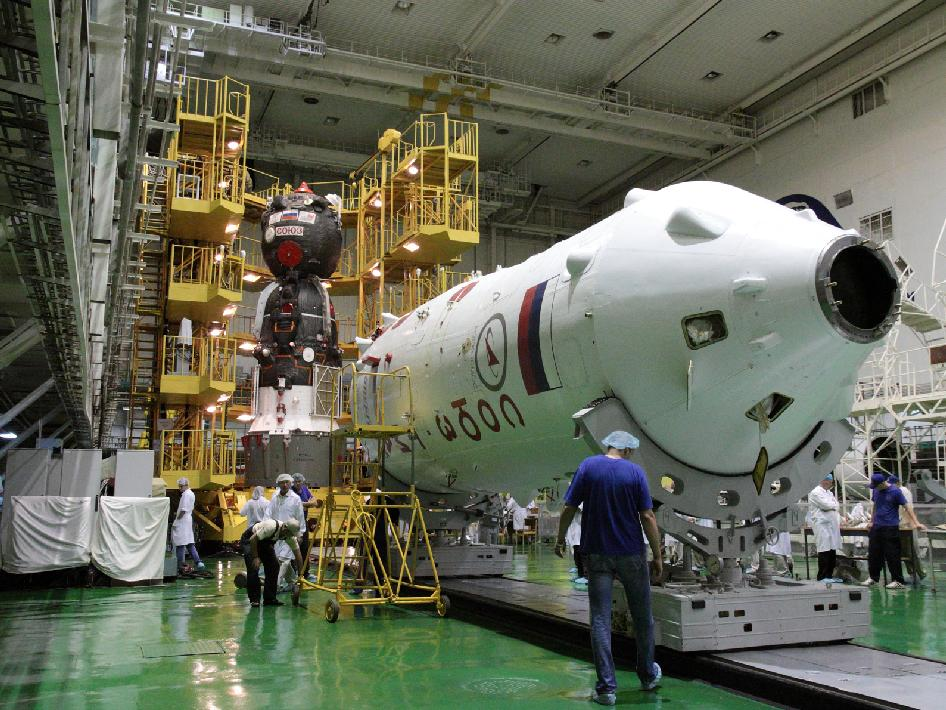 Soyuz TMA-05M spacecraft