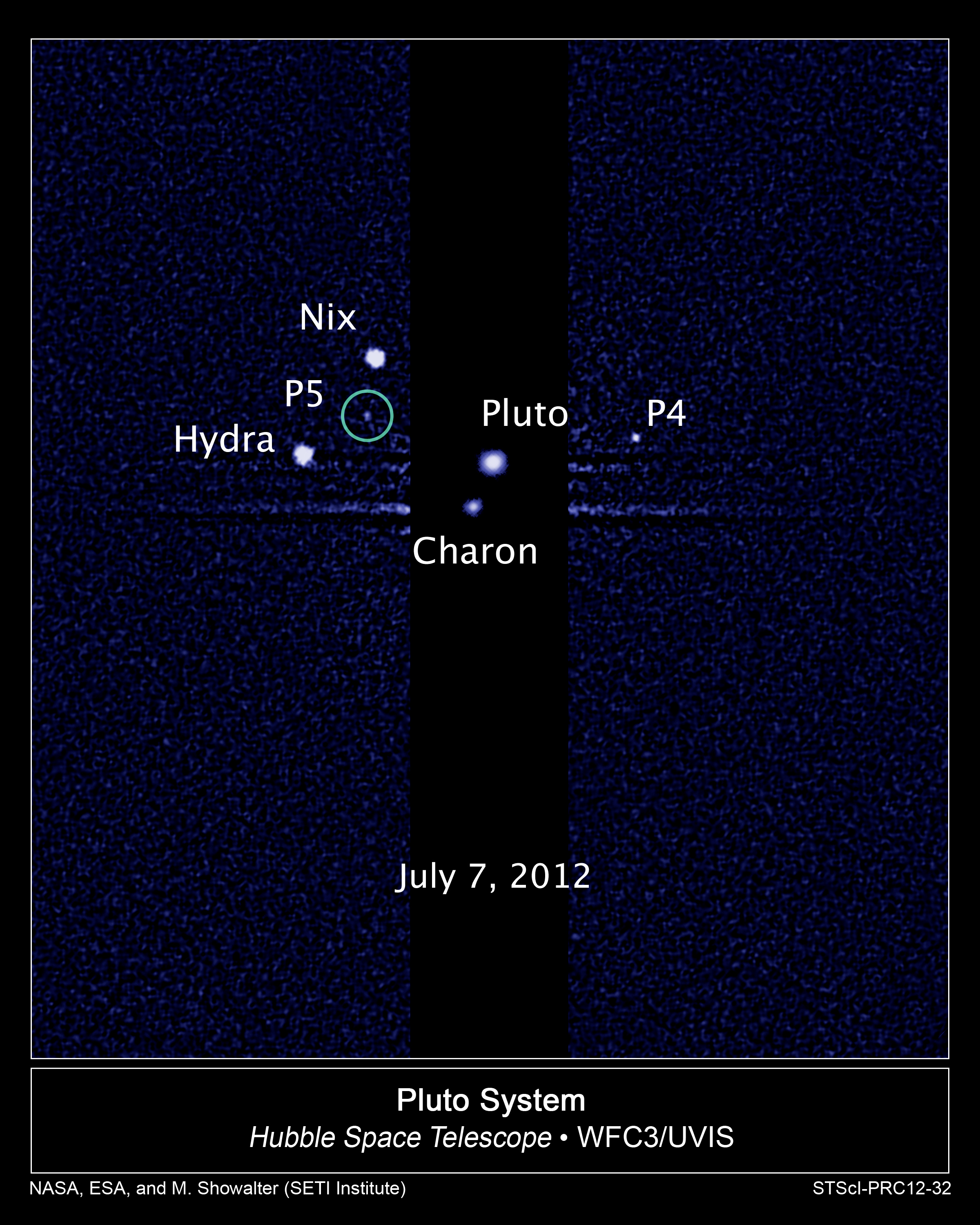 Discovery Of Pluto: Hubble Discovers A Fifth Moon Orbiting Pluto