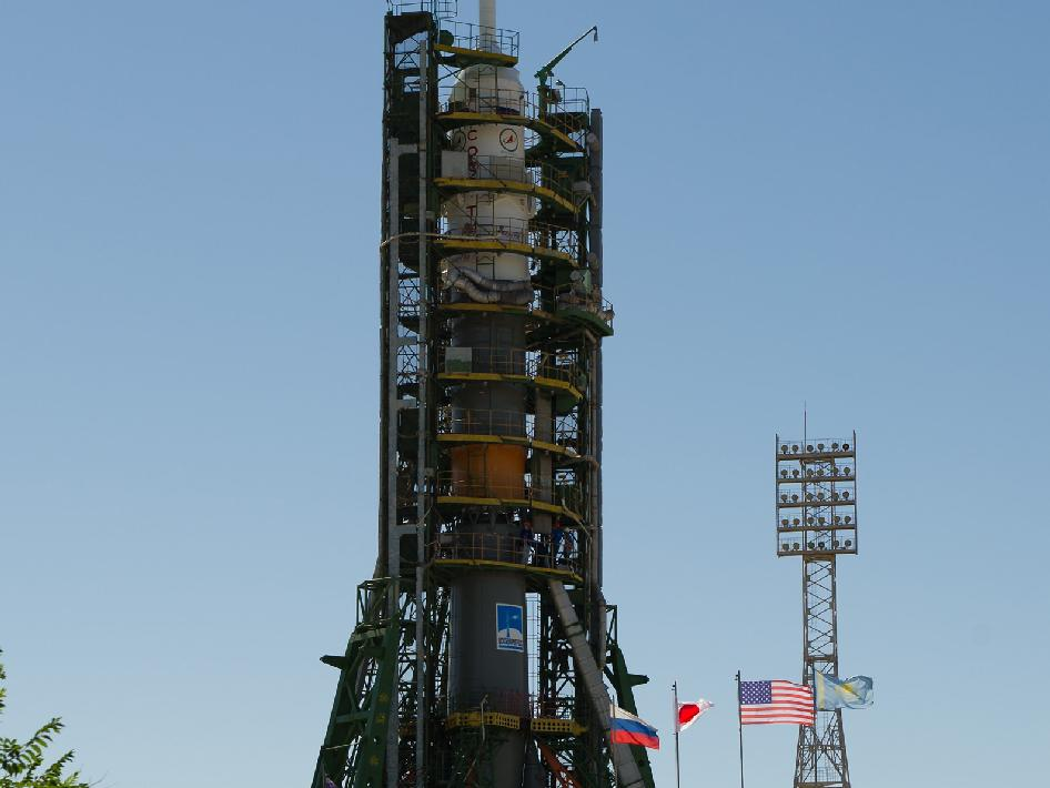 Flags of the Soyuz Crew