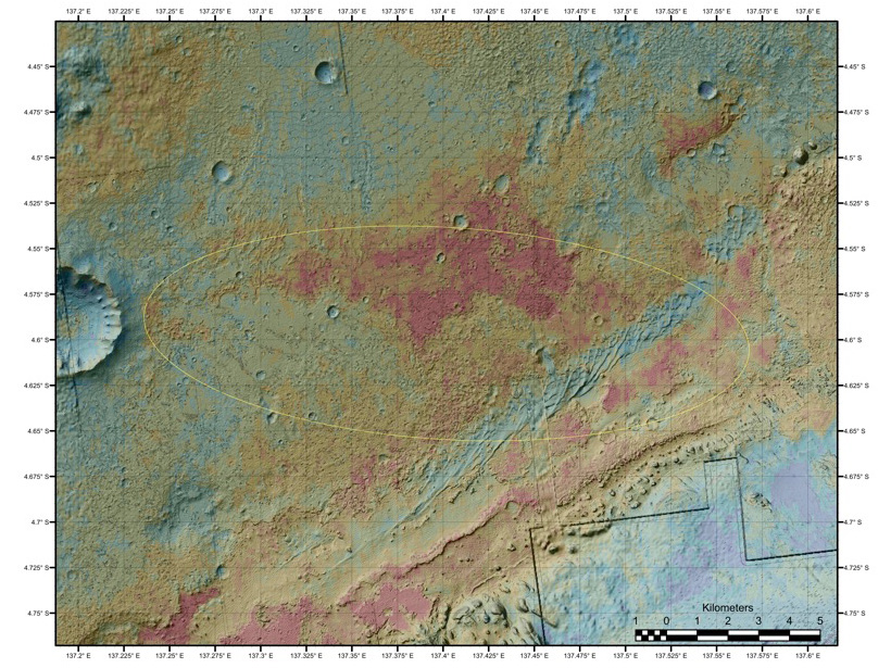NASA - Geological Diversity at Curiosity's Landing Site