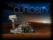 Interactive games featuring NASA's Mars rover Curiosity
