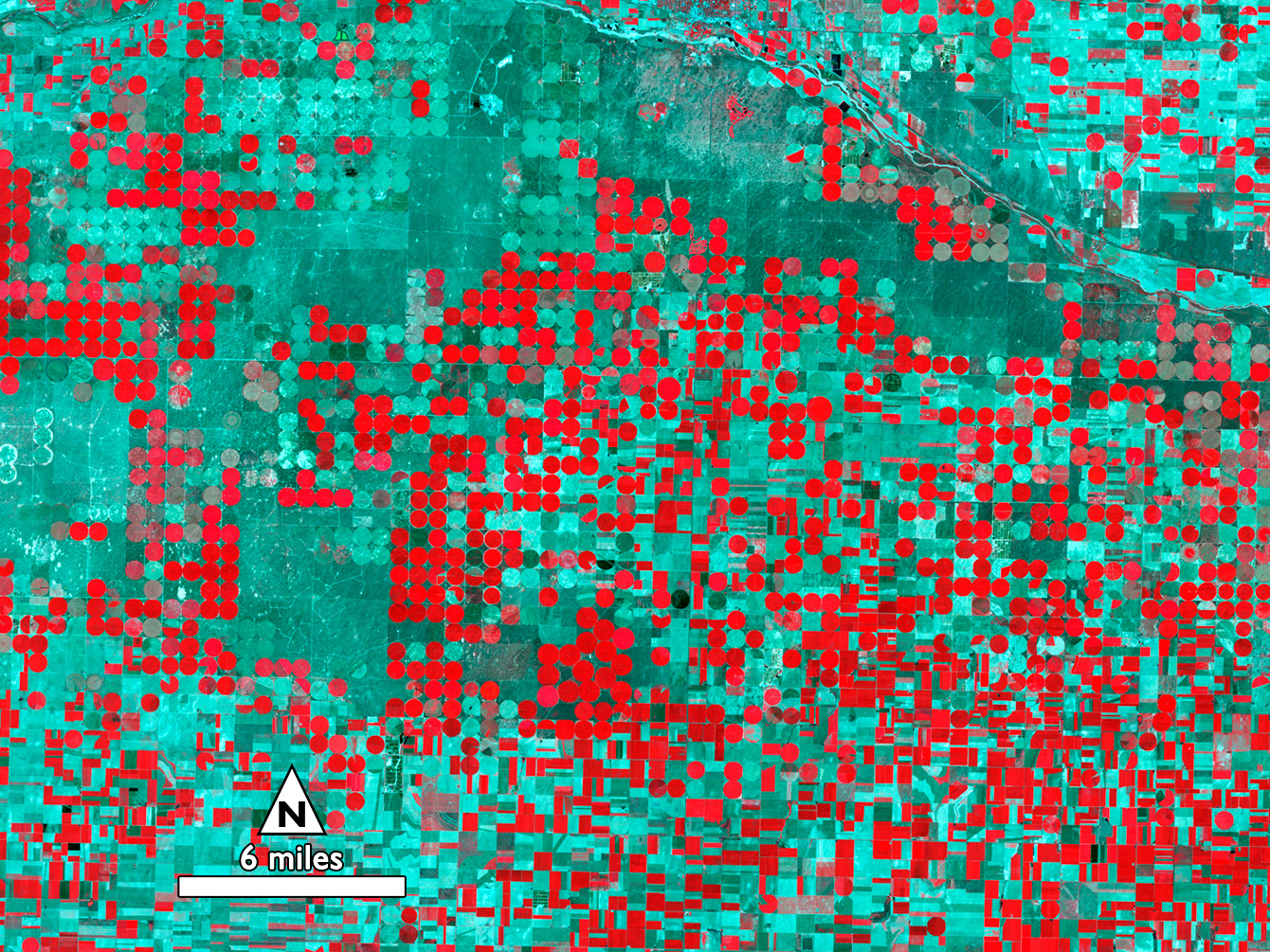 NASA , Landsat Top 10 Mining for Water in the Kansas Heartland
