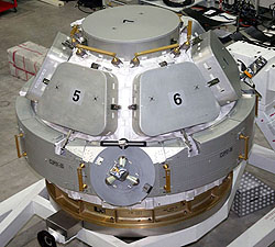 Cupola module in the SSPF
