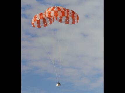 Orion Parachute Test, July 18