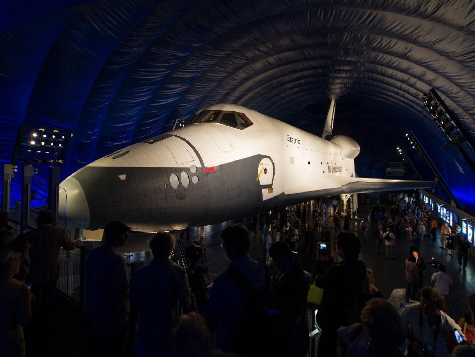 space shuttle enterprise in nyc - photo #29