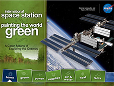 International Space Station: Painting the World Green