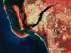 Landsat image of Lee County, Fla., 2011