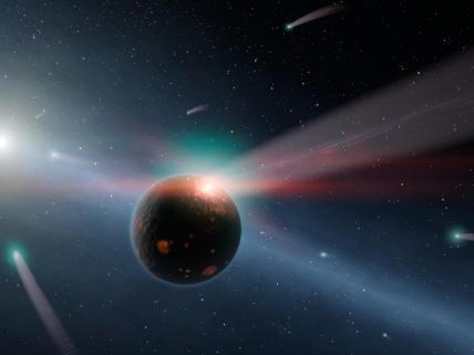 A Storm of Comets