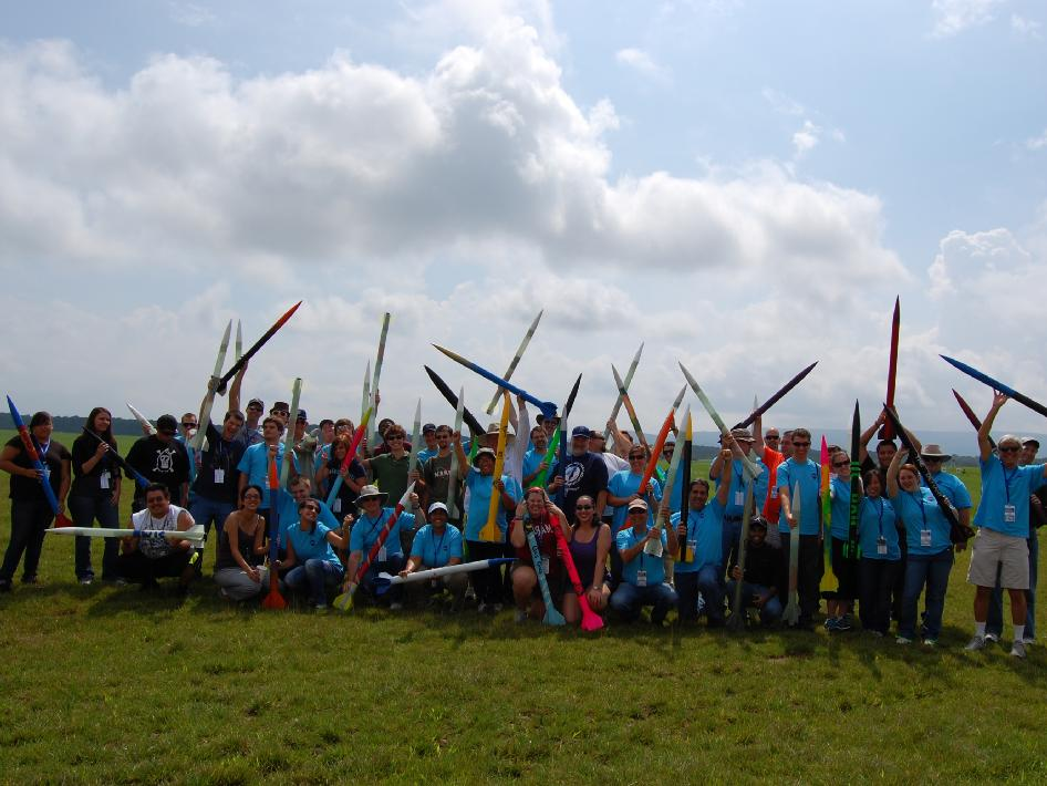 Participants in the 2012-2013 Advanced Rocketry Workshop, held from July 18-21 in Huntsville, Ala.
