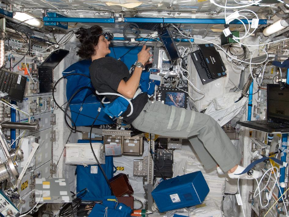 Expedition 32 Flight Engineer Suni Williams