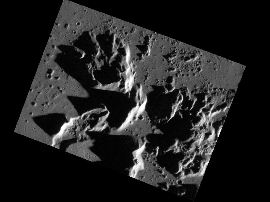 Image from Orbit of Mercury: Making Mountains Out of Central Peaks