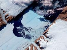 July 21 photo of massive ice island broke free of the Petermann Glacier in northwestern Greenland on July 16, 2012.