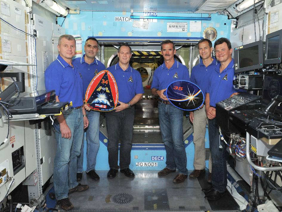 Expedition 33, 34 and 35 Crew Members