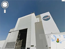 Google Street View image of the VAB