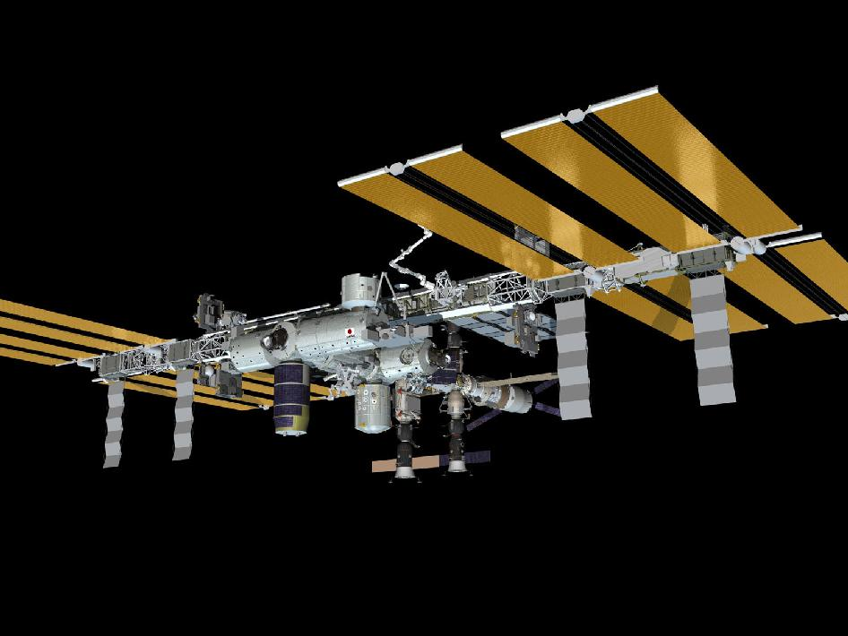 ISS as of July 30, 2012
