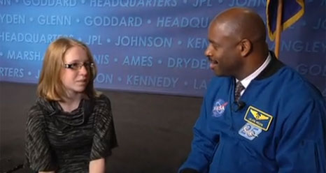 Molly Moore interviews Leland Melvin