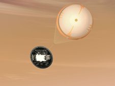 The Mars Science Laboratory mission will use the largest parachute ever built to fly on a planetary mission.