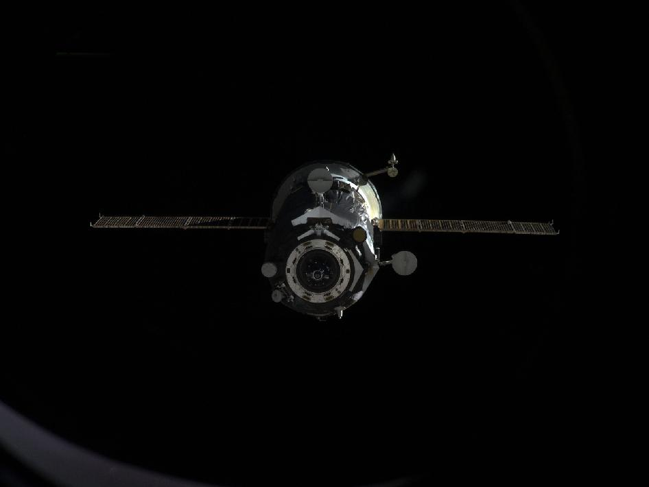 ISS Progress 47 Departs