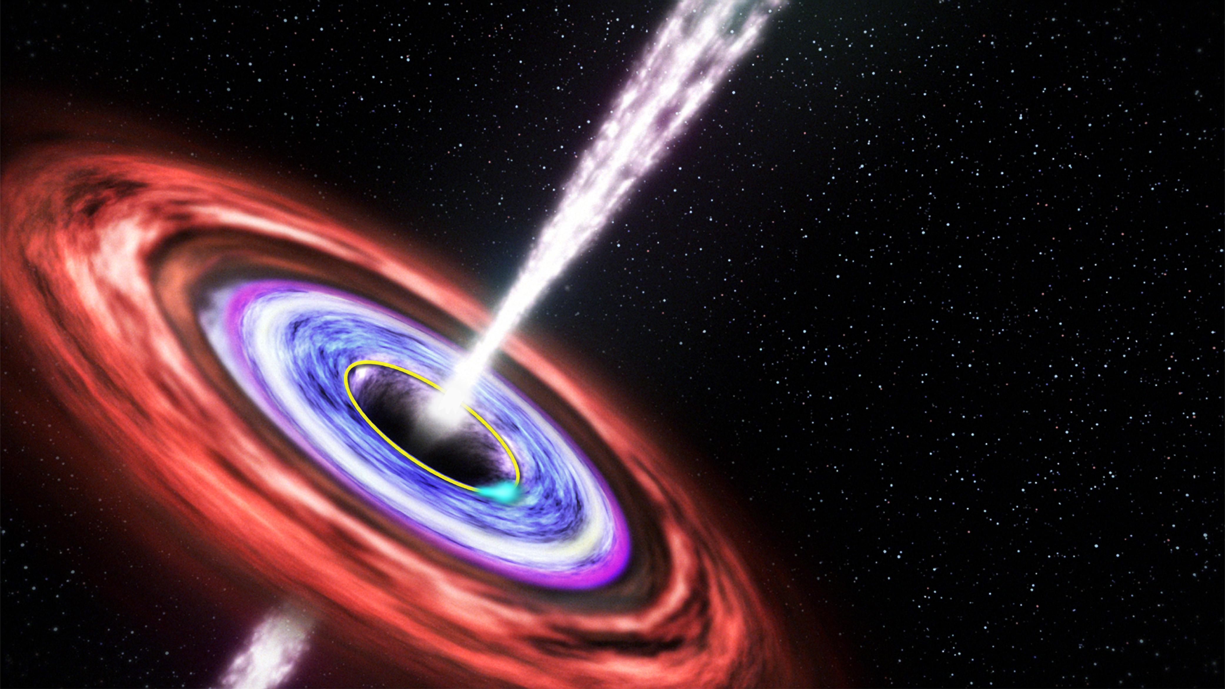 do black holes ever die - photo #22