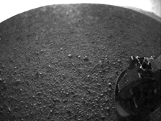 Curiosity's early view of Mars