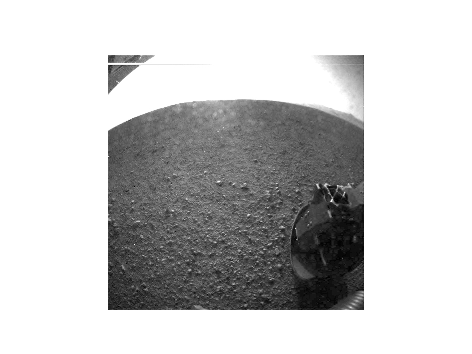 Curiosity's First Images