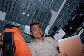 Carey on STS-109 mission