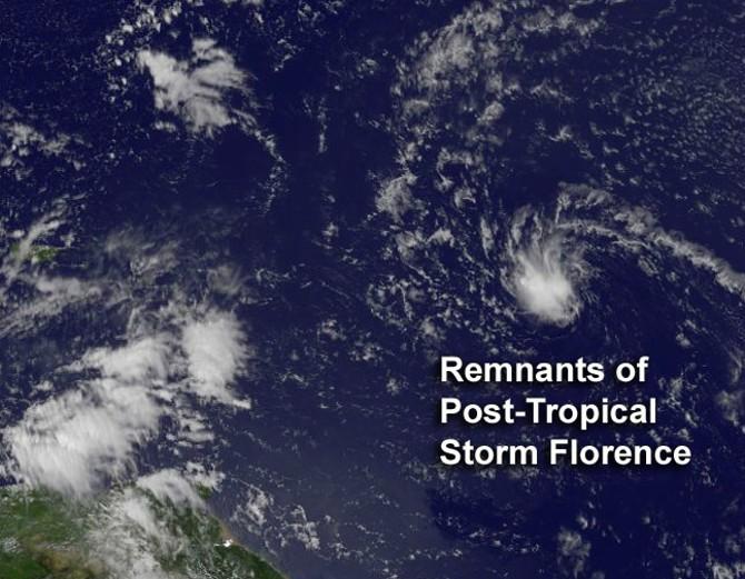 NASA - Hurricane Season 2012: Tropical Storm Florence ...