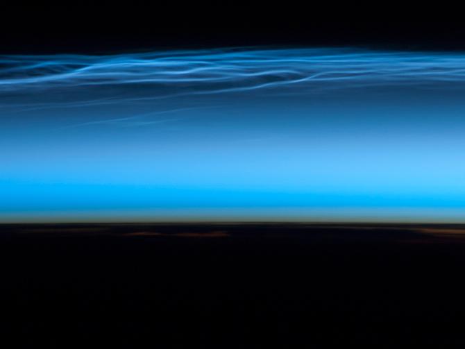 CEN como se ve desde la ISS el 13 de julio de 2012.