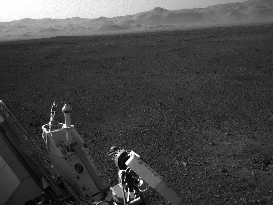 NASA's Mars Science Laboratory Image