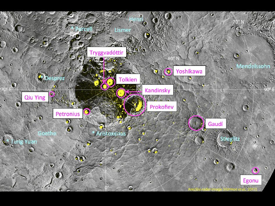 Image from Orbit of Mercury: Nine New Names in the North!