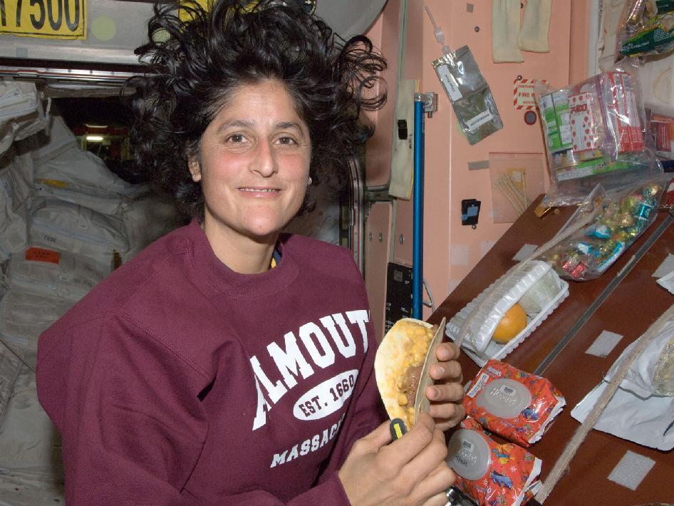Astronaut Suni Williams