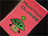 Book with title Martian Diaries