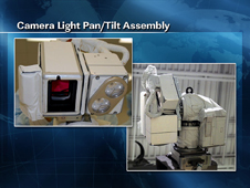 Camera Light Pan/Tilt Assembly