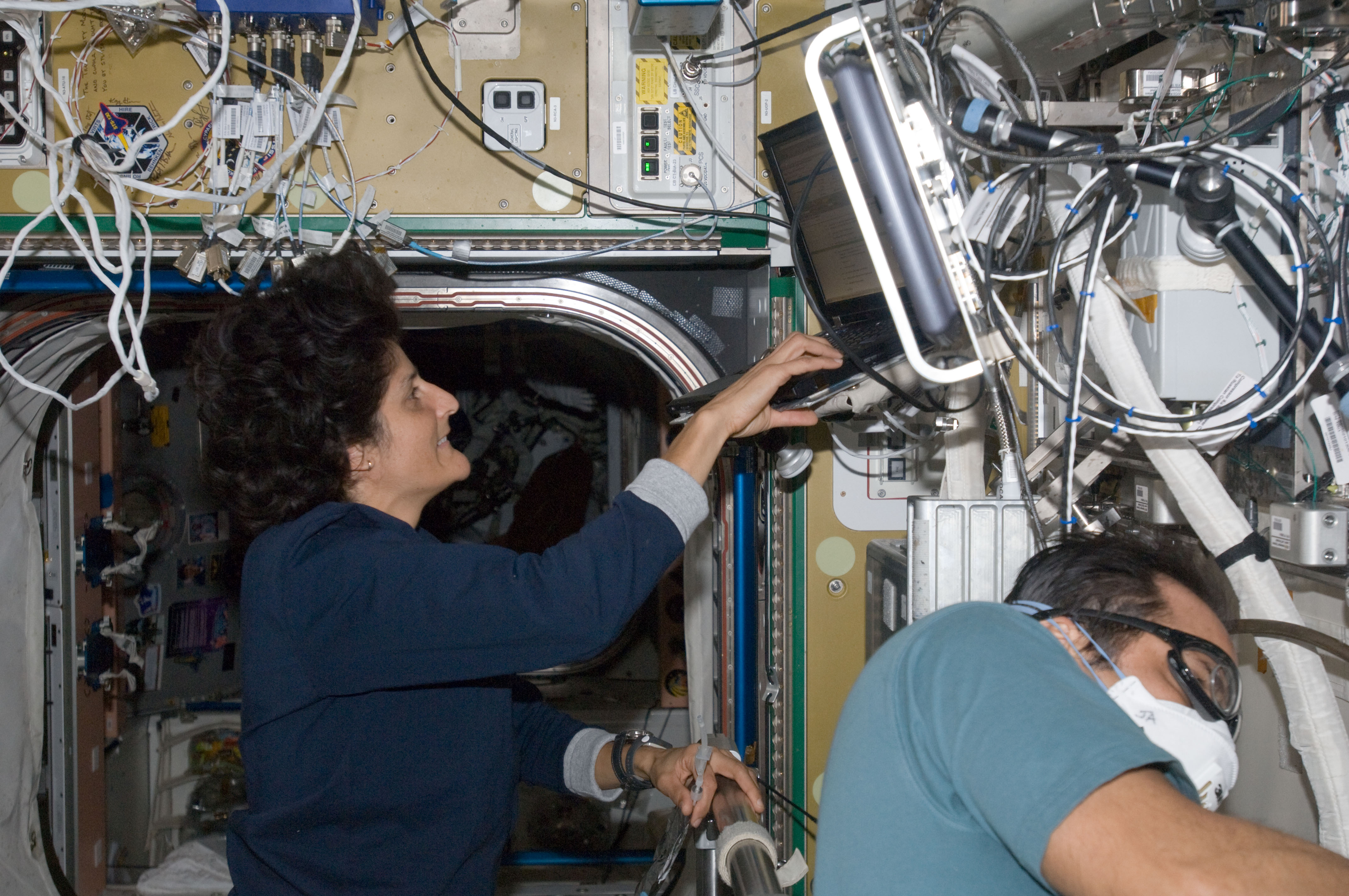 NASA - Sunita Williams and Joe Acaba