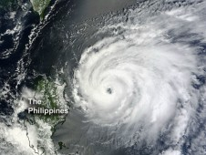 MODIS captured this visible image of Typhoon Temin on August 20, 2012 showing a very clear eye.