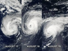 MODIS shows the progression of Hurricane Gordon through the eastern Atlantic Ocean.