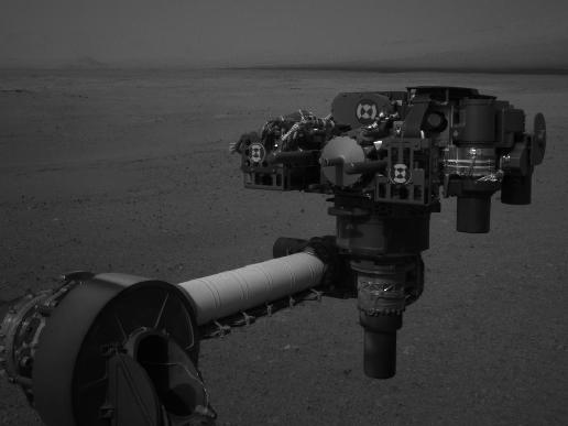 End Curiosity's Extended Arm, Full-Resolution