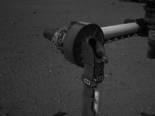 Part of Curiosity's Outstretched Arm, Full-Resolution