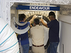 Endeavour Hatch Closing