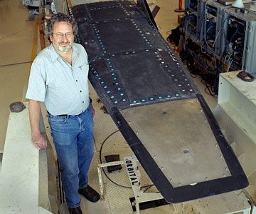 X-43A engineer Randy Vorland