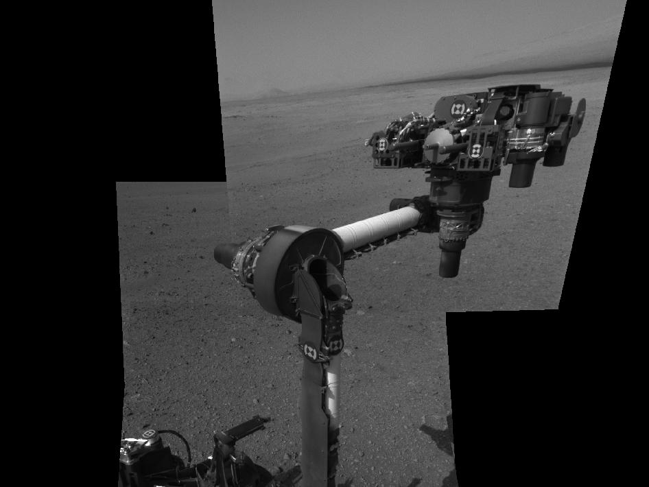 Curiosity's First Arm Extension, Full Resolution