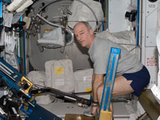 Astronaut Jeff Williams on aRED
