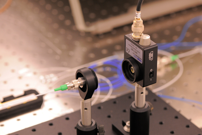 The Goddard-designed breadboard laser system critical to advancing atom-optics instruments.