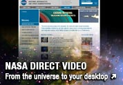 NASA Direct Video - from the universe to your desktop