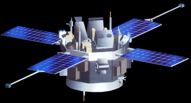Artist's rendition of the ACE spacecraft.