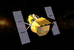 Portrait of the Swift satellite